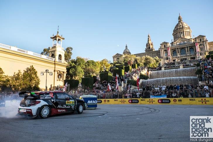 World Rally Championship Spain 2015-6