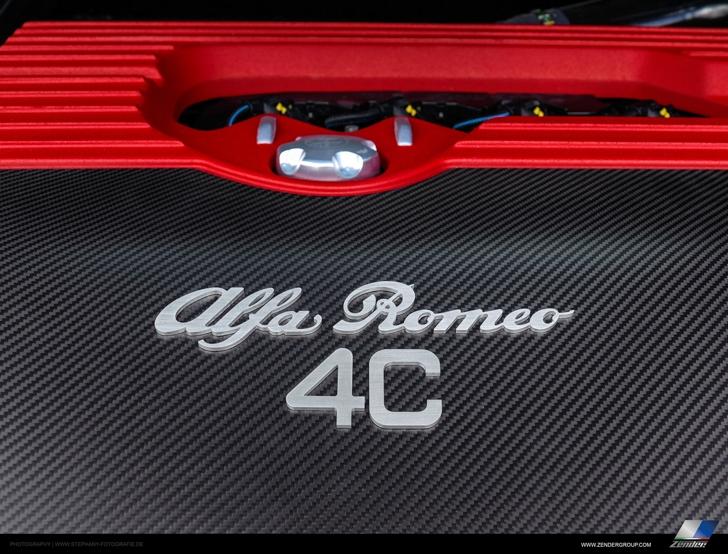 Zender Alfa Romeo 4C-16