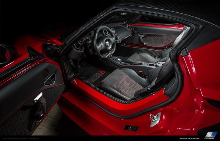 Zender Alfa Romeo 4C-18