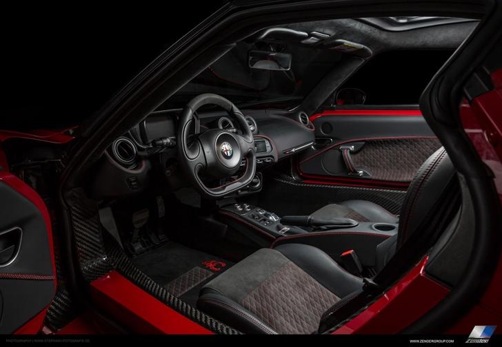 Zender Alfa Romeo 4C-19